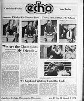 Augsburg Echo March 9, 1979