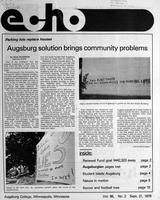 Augsburg Echo September 21, 1979