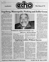 Augsburg Echo May 4, 1979