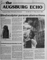 Augsburg Echo December 3, 1982, Page 01