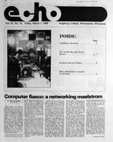 Augsburg Echo March 1, 1985