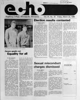 Augsburg Echo March 22, 1985