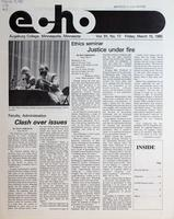 Augsburg Echo March 15, 1985