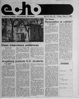 Augsburg Echo May 3, 1985