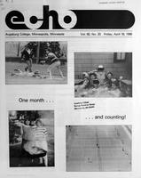 Augsburg Echo April 18, 1986