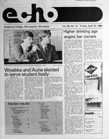 Augsburg Echo April 25, 1986