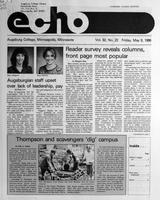 Augsburg Echo May 9, 1986
