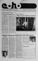 Augsburg Echo October 31, 1986