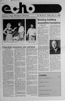 Augsburg Echo November 21, 1986