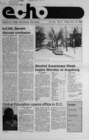 Augsburg Echo November 14, 1986