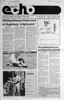 Augsburg Echo April 24, 1987