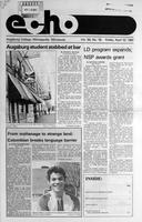 Augsburg Echo April 10, 1987, Page 01