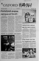 Augsburg Echo [The Oxford] May 12, 1989