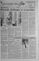 Augsburg Echo November 9, 1990