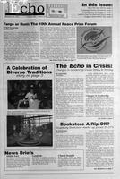 Augsburg Echo February 20, 1998, Page 01