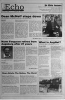 Augsburg Echo October 1, 1999, Page 01