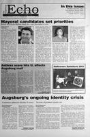 Augsburg Echo November 2, 2001, Page 01