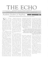 Augsburg Echo December 2, 2016