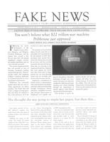Augsburg Echo [Fake News: A Donald Trump Endorsed Newspaper] March 24, 2017, Page 01