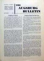 Augsburg Bulletin September 1943