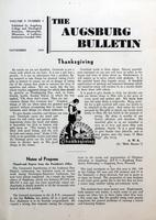Augsburg Bulletin November 1943