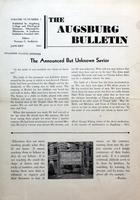 Augsburg Bulletin January 1944