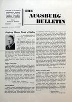 Augsburg Bulletin March 1944