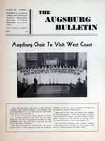 Augsburg Bulletin April 1946, Page 01