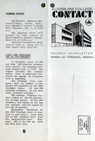 Augsburg College Contact: Church Newsletter December 1967