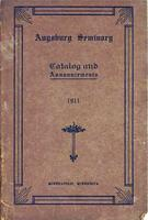 Augsburg Seminary Catalog, 1910-1911