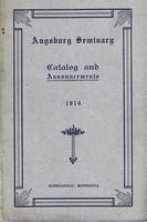 Augsburg Seminary Catalog, 1913-1914