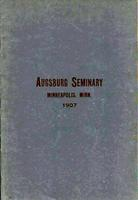 Augsburg Seminary Catalog, 1906-1907