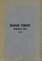 Augsburg Seminary Catalog, 1903-1904