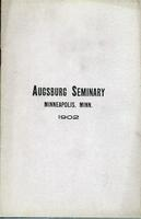 Augsburg Seminary Catalog, 1901-1902