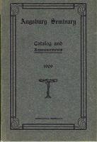 Augsburg Seminary Catalog, 1908-1909