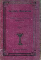 Augsburg Seminary Catalog, 1911-1912