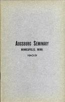 Augsburg Seminary Catalog, 1902-1903