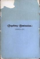 Augsburg Seminary Catalog, 1890-1891