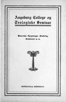 Augsburg College Catalog, 1916-1917