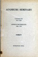 Augsburg College Catalog, 1927-1928
