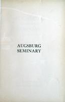 Augsburg College Catalog, 1930-1931, Page 003