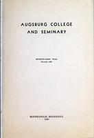 Augsburg College Catalog, 1939-1940, Page 03