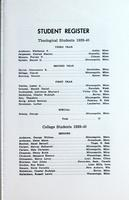 Augsburg College Catalog, 1939-1940, Page 73