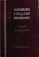 Augsburg College Catalog, 1940-1941