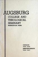 Augsburg College Catalog, 1945-1946