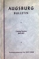Augsburg College Catalog, 1946-1947