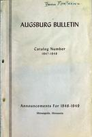 Augsburg College Catalog, 1947-1948