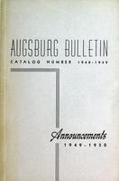 Augsburg College Catalog, 1948-1949