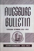 Augsburg College Catalog, 1951-1952
