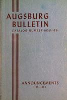 Augsburg College Catalog, 1950-1951